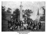 Confederate Veterans Reunion about 1900 at Liberty