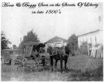 Liberty Horse and Buggy Scene