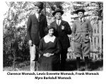 Lewis Everette Womack Family Members
