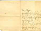 BMC General Correspondence, Letter from Modena Lowrey Berry to Belle [Turney?]: April [?], 1896.