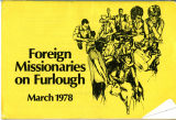 "BMC Document Archives. ""Foreign Missionaries on Furlough"" by Global Discipleship: March..."