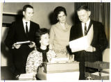 Mary Dean Hollis, Mildred Nyrick, and Perry Wayne Malone; BMC Business Office Staff