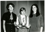 Kathy Little, Jo Hughes, and Kay Wallace; 1969
