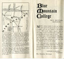 Blue Mountain College Promotion Brochure