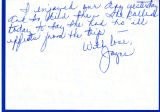 Letter from Joyce to Mary Dean;...