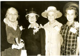 Presidents' Wives; Mrs. W.T. Lowrey, Mrs. Lawrence T. Lowrey, Mrs. Wilfred C. Tyler, Mrs. E....