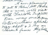 Letter from Mary Ella to May; October 18,1957