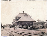 Passenger Train Station in Clarksdale, Miss