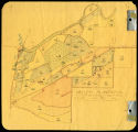 Map of Valley Plantation north of Florence Avenue, Clarksdale (Miss.), 1954 copy