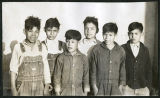 Tucker, Group of Choctaw Indian boys
