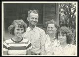 Bexley, Dudley Hobby with wife and daughters;1951-05-08