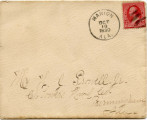 Letter, Eugenia Morgan to Jemison Prowell; 1890 October 18