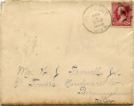 Letter, Eugenia Morgan to Jemison Prowell; 1890 July 07