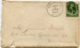 Letter, Eugenia Morgan to Jemison Prowell; 1890 January 09