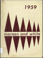1959 Maroon and White: Stephen D. Lee High School