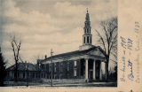 Postcard of First Baptist Church, Columbus, Mississippi