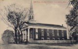 Postcard of Old First Baptist Church, Columbus, Mississippi