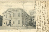 Postcard of The New City Hall and Post Office, Columbus, Mississippi