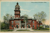 Postcard of County Court House, Columbus, Mississippi