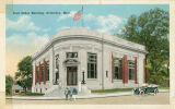 Postcard of Post Office Building, Columbus, Mississippi