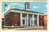Postcard of Post Office, Columbus, Mississippi