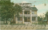 Postcard of Columbus Hospital, Columbus, Mississippi