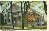 Postcard of Fite Hospital, Columbus, Mississippi
