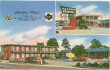 Postcard of Columbus Motel, Columbus, Mississippi