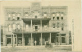 Postcard of Commercial Hotel, Columbus, Mississippi