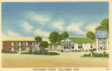 Postcard of Columbus Court, Columbus, Mississippi