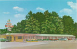 Postcard of Mallard Motel, Columbus, Mississippi