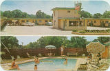 Postcard of Plaza Motel, Columbus, Mississippi