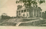 Postcard of Colonial Residence of J.H. Kennebrew, North Highlands, Columbus, Mississippi