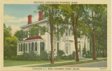Postcard of Beautiful Ante-bellum Humphrey Home, converted to J. Rigg Vaughn's Piano Salon