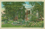 Postcard of Old Franklin Home, Columbus, Mississippi