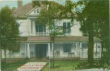Postcard of Residence of J.C. Hackleman, North Highlands, Columbus, Mississippi