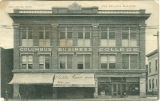 Postcard of Odd Fellows Building, Columbus Business College, Columbus, Mississippi