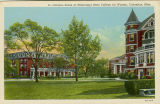 Postcard of Campus Scene at Mississippi State College for Women