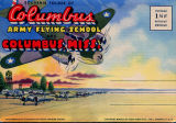 Souvenir folder of Columbus Army Flying School and Columbus, Mississippi
