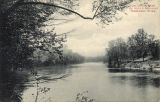 Postcard of Columbus, Mississippi, De Sota's Crossing Tombigbee River