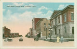 Postcard of Main Street, looking West, Columbus, Mississippi