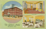 Postcard of The Gilmer Hotel, Columbus, Mississippi