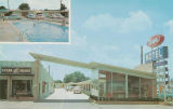 Postcard of Town Motel, Columbus, Mississippi