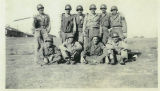 Group of soldiers posing for picture