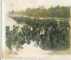 Soldiers Marching in Field