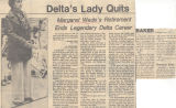 Daily News, Delta's Lady Quits
