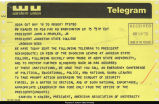 Telegram, American Association of University Professors to President John A. Peoples; May 16, 1970