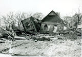 Tornado damage 1976: House on Fulton Street