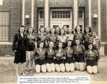 Canton girls basketball team, 1947