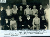 Boxing team 1935
